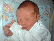 Jan Mišo, Dalov, narozen 8. února ve Šternberku míra 48 cm, váha 2950 g