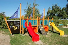 Nové hřiště mají děti v Rozvadovicích, místní části Litovle na Olomoucku.