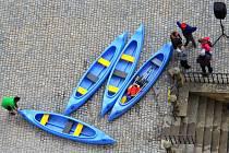Litovel zahájila turitickou sezonu i projížďkami na lodičkách pod radnicí