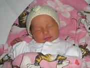Magdaléna Žiačiková, Olomouc, narozena 7. února v Olomouci, míra 49 cm, váha 2820 g