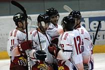 Radost hokejistů Mory