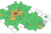 Na mapě regionů ČR podle rizika nákazy Covid -19, takzvaném semaforu, jsou od pátku v zelené všechny okresy Olomouckého kraje kromě Jesenicka.