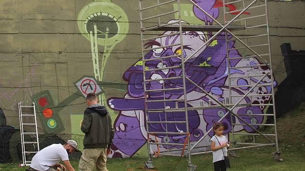 Streetartovy Festival V Olomouci Poulicni Umelci Doslova Radili