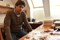 Kurátor numismatické sbírky Vlastivědného muzea Olomouc Filip Hradil