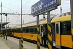 Vlak společnosti RegioJet v Zábřehu. Ilustrační foto