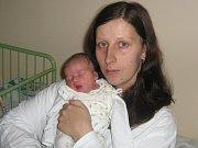 Šárka Bauerová, Litovel, narozena 6. února v Olomouci, míra 48 cm, váha 2690 g