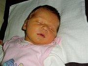 Silvie Zatloukalová, Olomouc, narozena 29. ledna v Olomouci, míra 50 cm, váha 3160 g