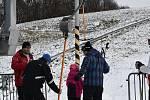 Skiareál Hlubočky v sobotu 15. prosince 2018