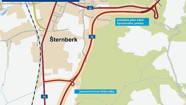Obchvat Šternberka