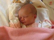 Valérie Šimková, Olomouc, narozena 10. února v Olomouci, míra 50 cm, váha 2590 g