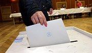 Druhé kolo senátních voleb ve Velkém Týnci