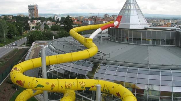 Olomoucký akvapark. Ilustrační foto
