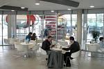 Restaurace v prvním patře
