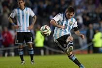 Jedna ze superstar brazilského turnaje: argentinský magik Lionel Messi
