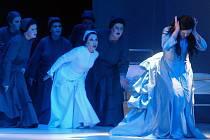 Wagnerova opera Bludný Holanďan na scéně Moravského divadla.