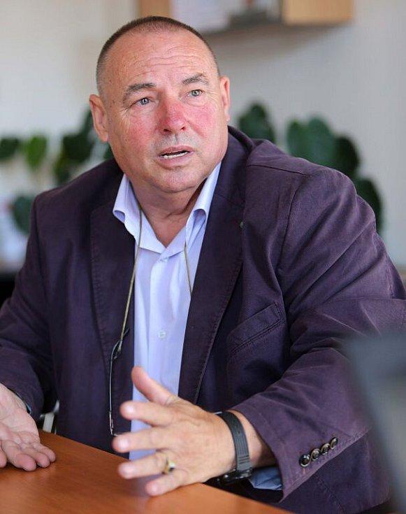 Stanislav Kaláb při on-line rozhovoru se čtenáři Deníku