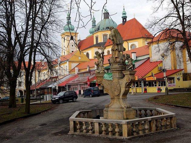 Sadové náměstí na Svatém Kopečku