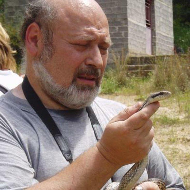 Herpetolog Ivan Zwach