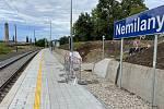 Modernizovaná železniční stanice Olomouc-Nemilany, 29. srpna 2021