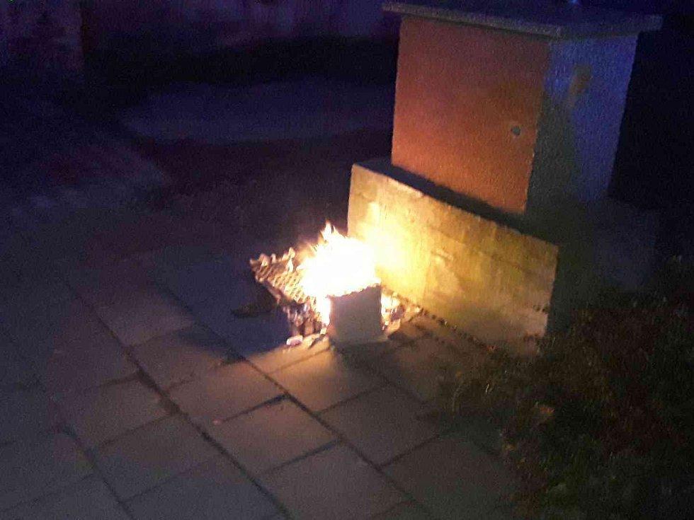 Zásahy hasičů v Olomouckém kraji o silvestrovské noci a na Nový rok ráno 2020