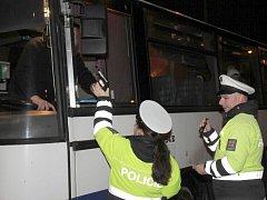 Policisté se zaměřili na alkohol u řidičů autobusů v Olomouckém kraji
