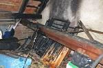 V Nezamyslicích z pátku na sobotu hořelo. Požár ničil na půdě rodinného domu