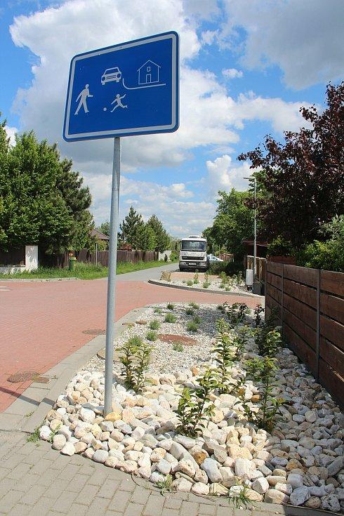 Křelov se pyšní upravenými ulicemi s novými výsadbami okrasné zeleně.