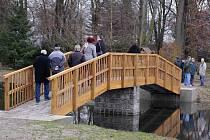 Slavnostní otevírání zrekonstruovaných rybníků v Uničově
