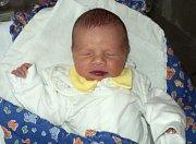 Šimon Režnar, Šternberk, narozen 21. března ve Šternberku, míra 48 cm, váha 3060 g