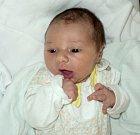 Anna Augustová, Olomouc, narozena 5. září ve Šternberku, míra 51 cm, váha 3800 g