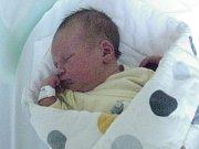Stella Rolínková, Velký Újezd, narozena 13. září v Olomouci, míra 50 cm, váha 3470 g