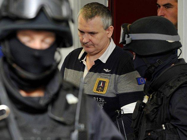 Radek Březina. Soud s tzv. lihovou mafií v Olomouci.