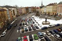 Dolní náměstí v Olomouci