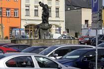 Parkování na Dolním náměstí