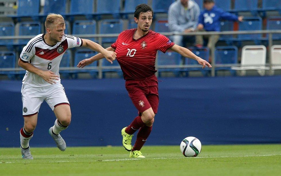 EURO U21: Semifinále Portugalsko - Německo.