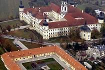 Areál vojenské nemocnice na Kláštěrním Hradisku v Olomouci