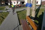 Masné krámy v Jívové. Populární zastávka cyklistů i běžkařů