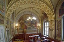 Kaple sester svatého Kříže v Arcibiskupském paláci v Olomouci