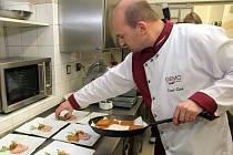Kamil Šádek, šéfkuchař Hotelu Gemo, jednoho z účastníků Grand Restaurant Festivalu v Olomouci