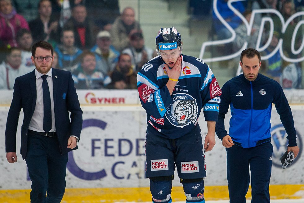 Bílí Tygři Liberec proti HC Olomouc. Lukáš Jašek.