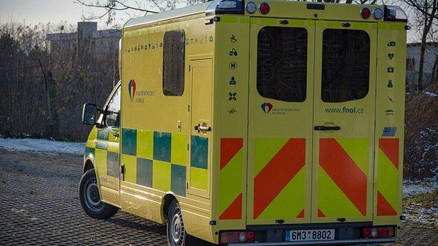 Nová sanitka pro extrémně obézní pacienty v Olomouci