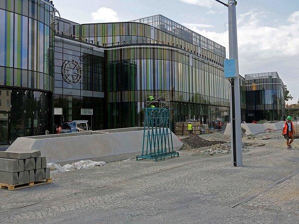Rozestavěná Galerie Šantovka. Ilustrační foto