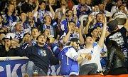 Olomouc proti Plzni - 3. čtvrtfinálový zápas - Fanoušci Plzně