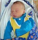 Jakub Matěj Malý, Litovel, narozen 22. ledna ve Šternberku, míra 50 cm, váha 3300 g.