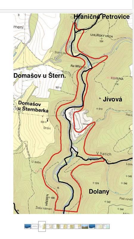 Údolí Trusovického potoka by mělo být hájeno kvůli možnému vybudování přehradní nádrže na zachycování srážkových vod.