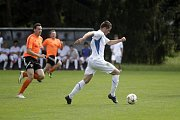 Výběr Olomouckého kraje před účastí na mistrovství Evropy amatérských fotbalistů odehrál přátelské utkání s Bohuňovicemi