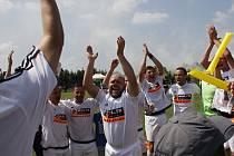 Přáslavice slaví vítězství nad Sigmou Hodolany.