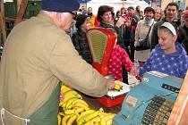 Fronta na banány