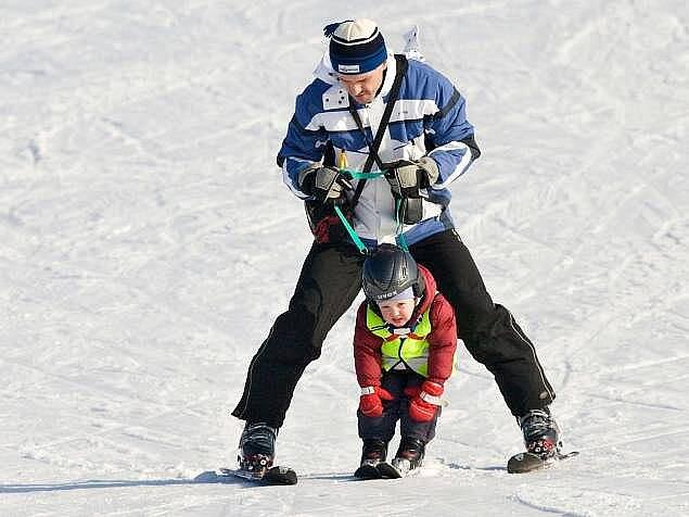 Jarní lyžování na Ramzové