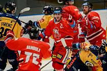 Olomoučtí hokejisté doma v rámci 40. kola Tipsport extraligy hostili zlínské Berany.